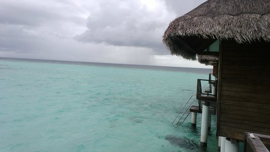 Maafushivaru: View from Water Villa