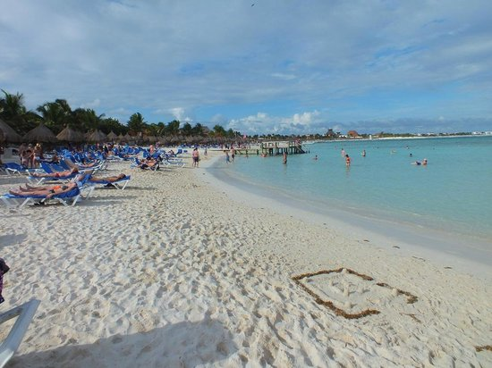 Luxury Bahia Principe Sian Ka'an Don Pablo Collection: Part of the wonderful beach area