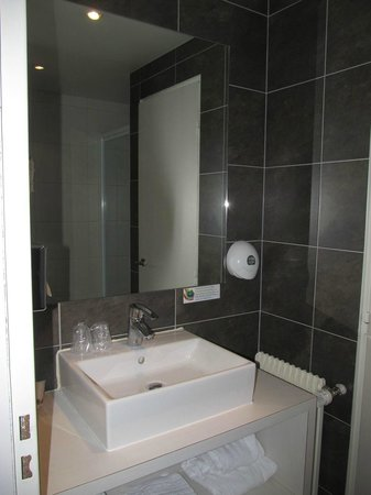BEST WESTERN Hotel De France by HappyCulture : Sink