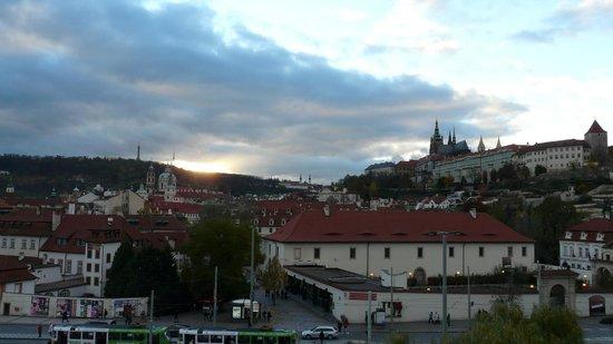 Hotel Klarov Prague: Виды из номера