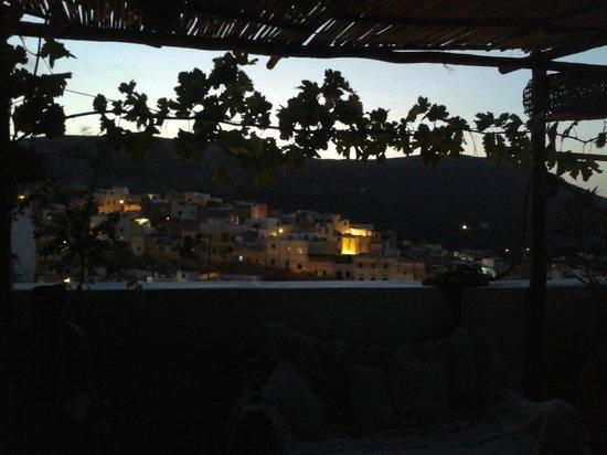 Dar KamalChaoui: la vue de nuit du toit