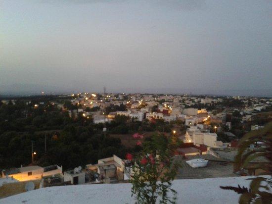 Dar KamalChaoui: La vue du toit