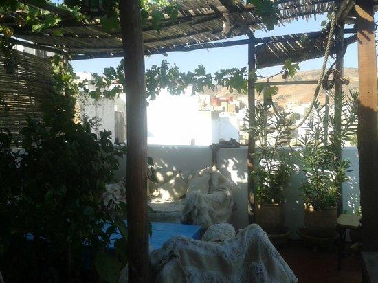 Dar KamalChaoui: La vue du toit au matin