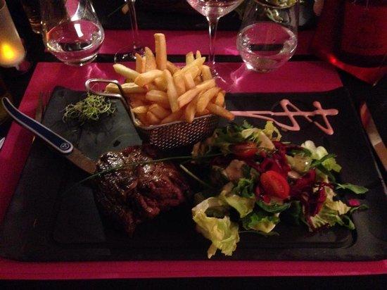 L'ESCALE BLANCHE : Fillet steak