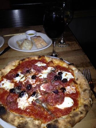 Pizzeria Bianco: sonny boy with extra anchovies