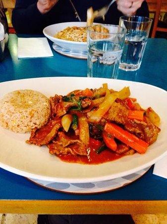 Banna Thai: lovely curry