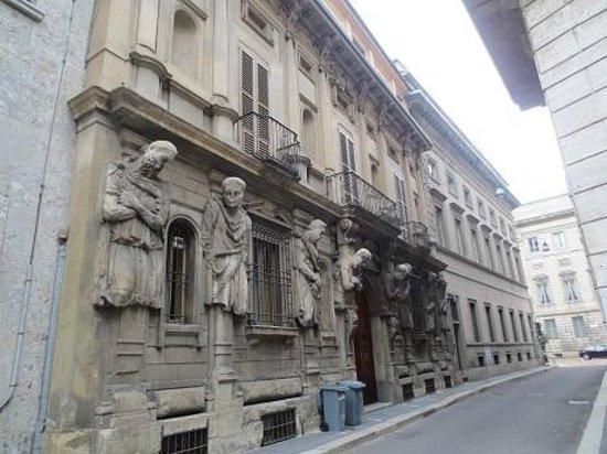 Casa degli Omenoni : nov 2013