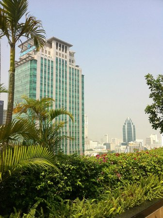 JW Marriott Hotel Bangkok: Vista