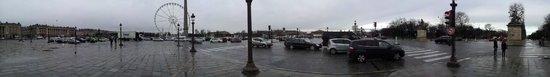 Place de la Concorde: panorama