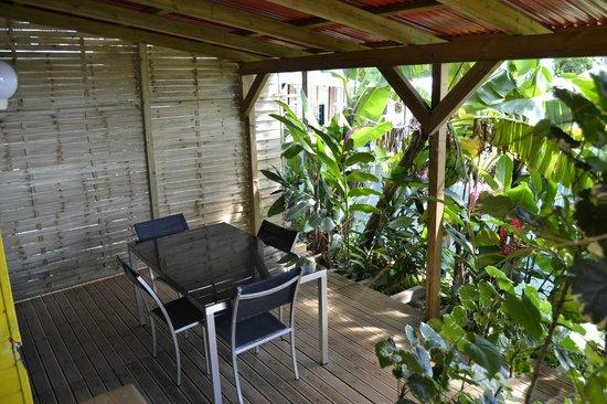 An Eol Caraïbes : bungalow bananier