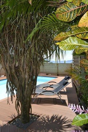 An Eol Caraïbes : piscine