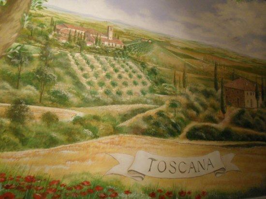 Hotel Toscana : Quadro all'ingresso