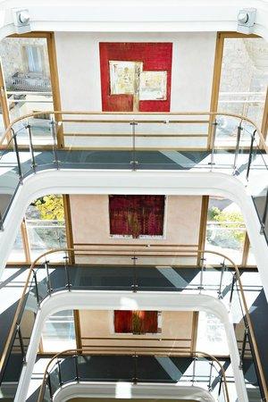 Hotel Allegra: Staircase