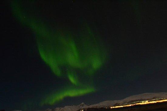 Sydspissen Hotel: Noorderlicht, foto gemaakt circa 5-10 mins lopen vanaf hotel