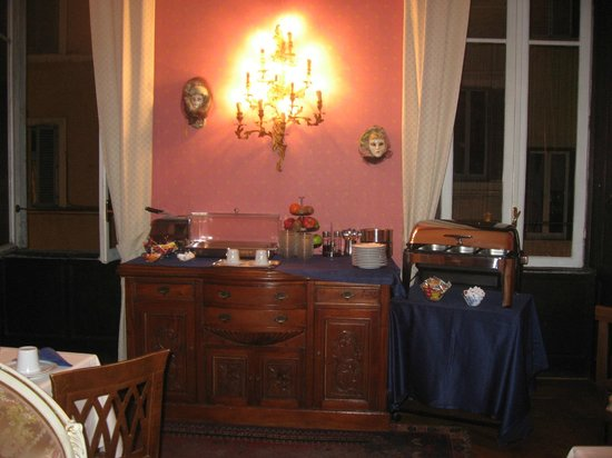 Residenza Frattina : le petit déjeuner