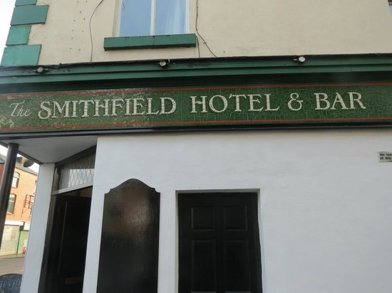 Smithfield Hotel: New mosaic sign