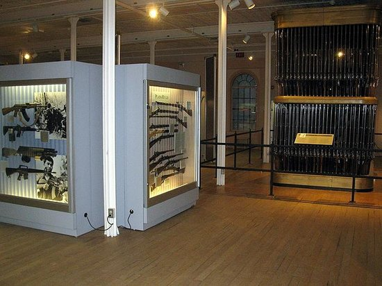 Springfield Armory National Historic Site: Springfield Armory (Jan. 2014)