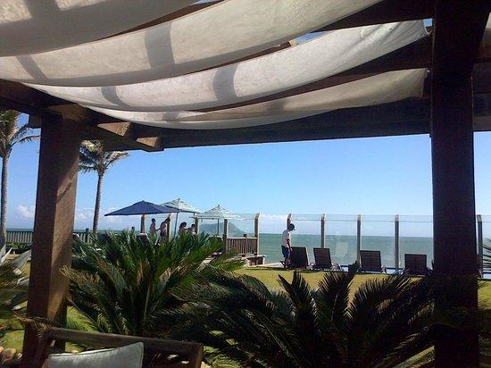 Villa Rasa: while having breakfast