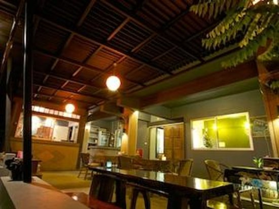 Rooms At Krabi Guesthouse : Restaurant area