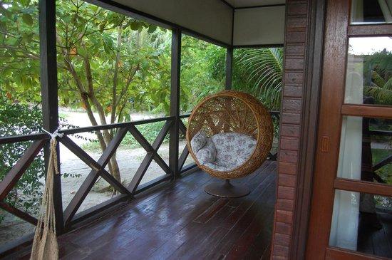 Mabul Beach Resort: Cozy chair