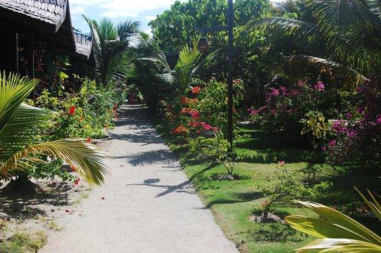 Mabul Beach Resort: Outside