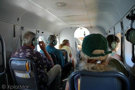 Taku Glacier Lodge & Wings Airways: Inside a Float Plane
