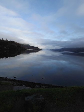 Fort Augustus: First View of Loch Ness