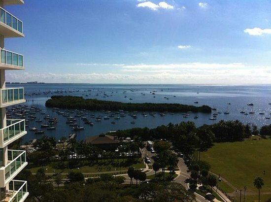 Sonesta Coconut Grove Miami : View of Dinner Key and Biscayne Bay