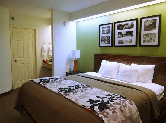 Sleep Inn: King Bed Room