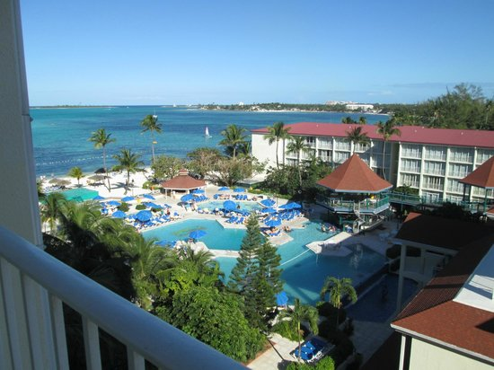 Breezes Resort & Spa Bahamas : Beautiful to wake up to this view