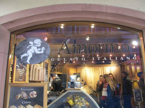 Amorino : Store window