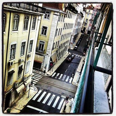 Vincci Baixa: A view from room 405.