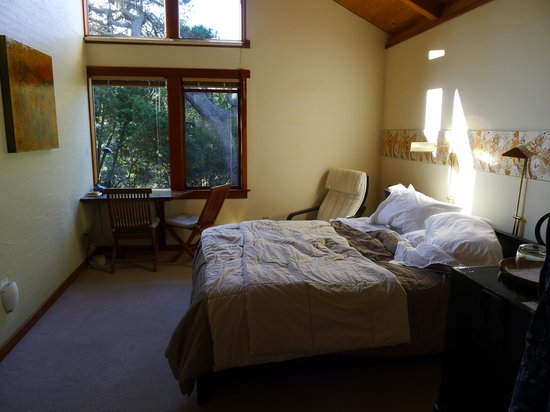 Osprey Peak Bed & Breakfast : sorry the bed's slept in already