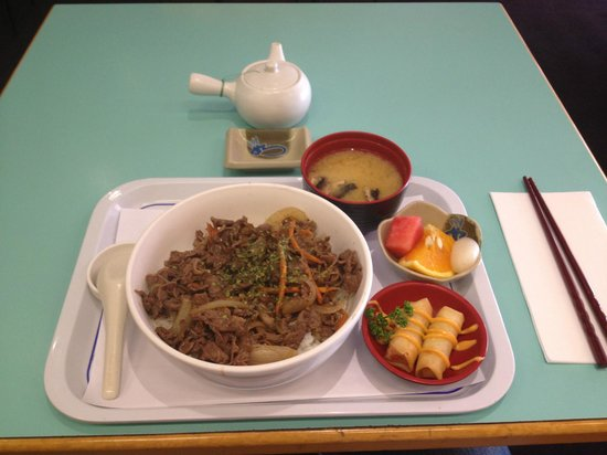 Yuriya Japanese Restaurant: Beef set