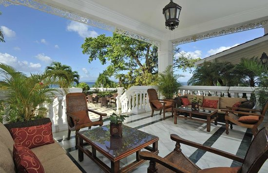 Luxury Bahia Principe Cayo Levantado: Terrace