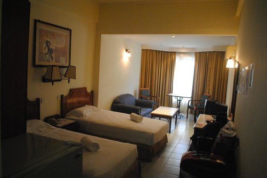 Promenade Hotel Apartments: Вид на собственно комнату