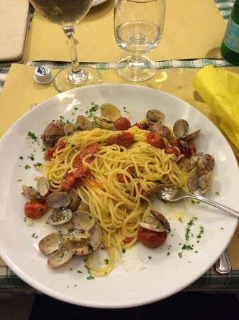 Osteria Il Gobbetto: spaghetti e vongole senza GLUTINE