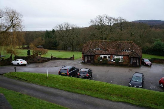 Lythe Hill Hotel & Spa: View from Disraeli room