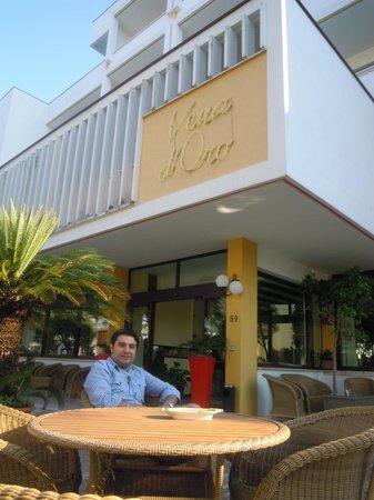 Hotel Terme Vena D'Oro: Entrata della Vena d'Oro Hotel Terme