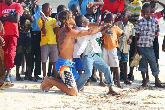 Jacaranda Beach Resort: Kite surf @  Jacaranda