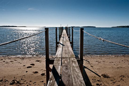 A Little Inn on Pleasant Bay : Our Dock