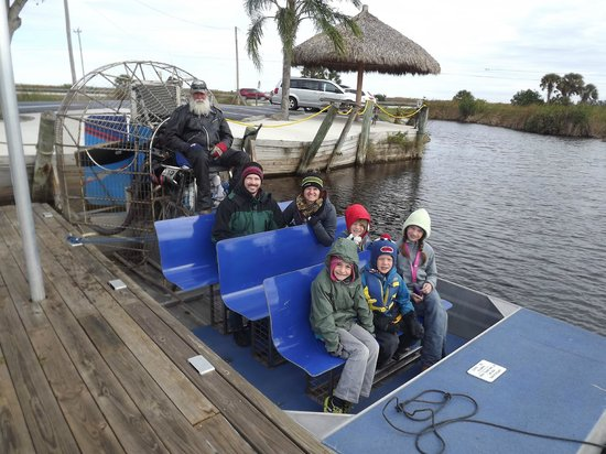 Capt Mitch's - Everglades Private Airboat Tours: Depart