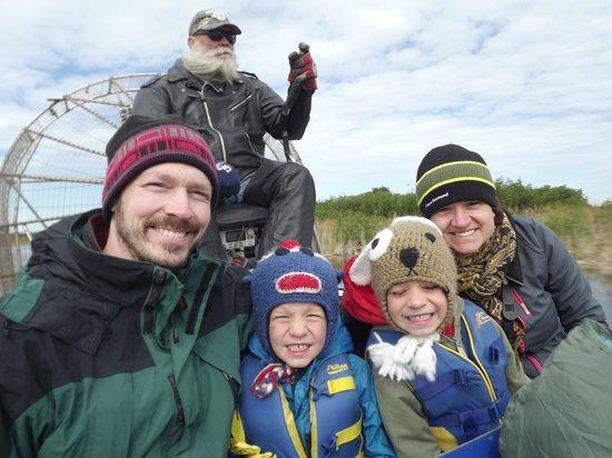 Capt Mitch's - Everglades Private Airboat Tours: tout le monde est heureux