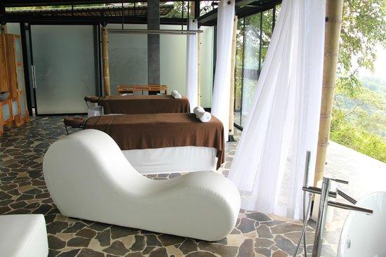Kura Design Villas Uvita : spa