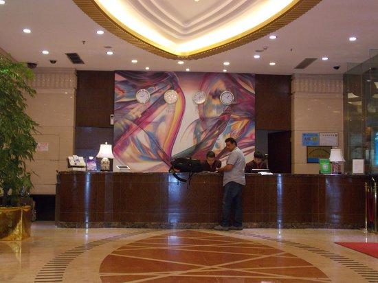 Metropark Hotel Shenzhen: Reception area