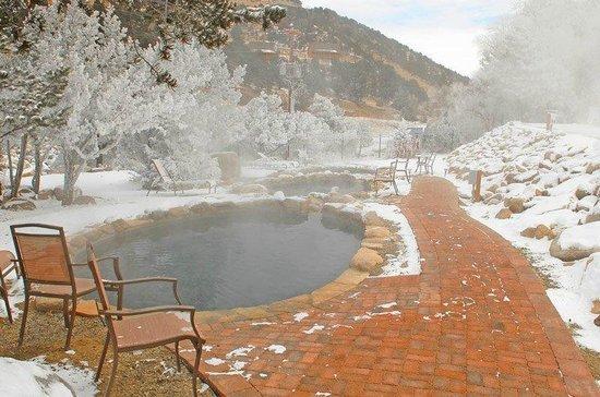 Mount Princeton Historic Bath House & Hot Springs: as we enjoyed last week in jan 2014