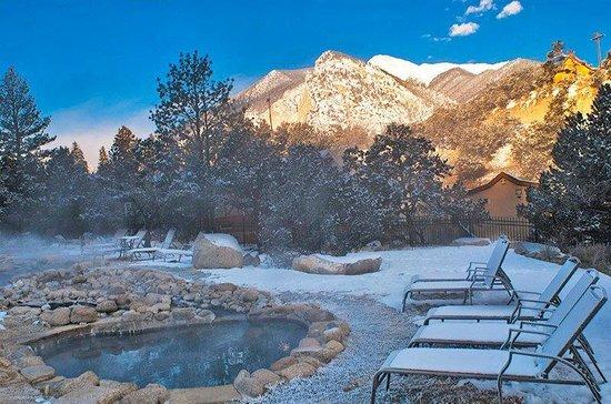 Mount Princeton Historic Bath House & Hot Springs: vortex of energy healing water