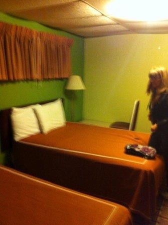 Red Carpet Inn: beds