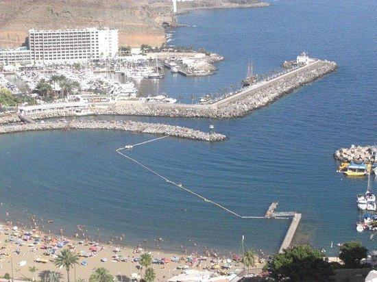 Servatur Puerto Azul: beach area