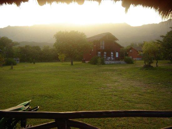 Cabañas Solarium del Valle: amanecer